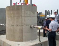 Demolering av betong og armert betong med darda splitter