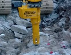 Vår nye Darda C20 fjellsplitter